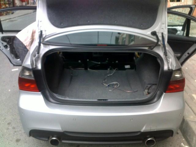 BMW Oto Müzik Sistem
