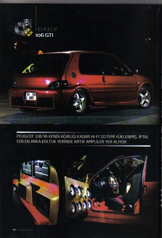 Peugeot Tuning Dergisi 3