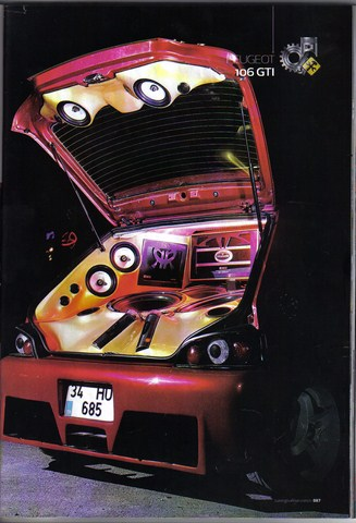 Peugeot Oto Müzik